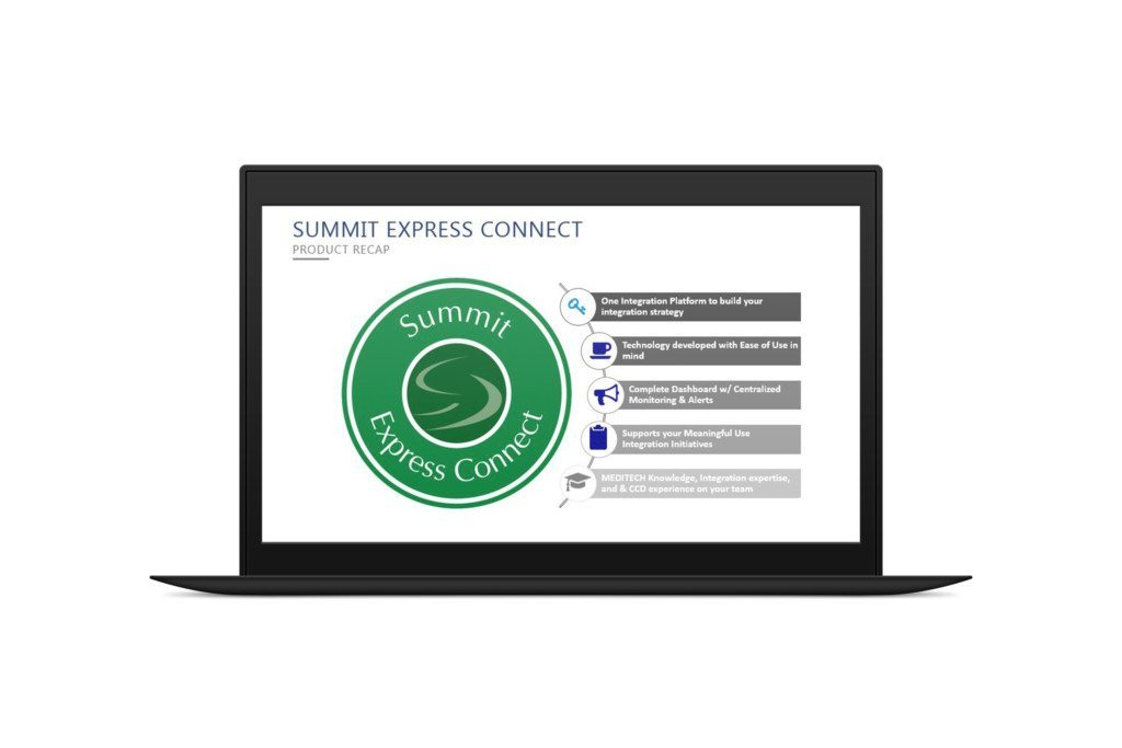 laptop pro express connect summit interoperability platform