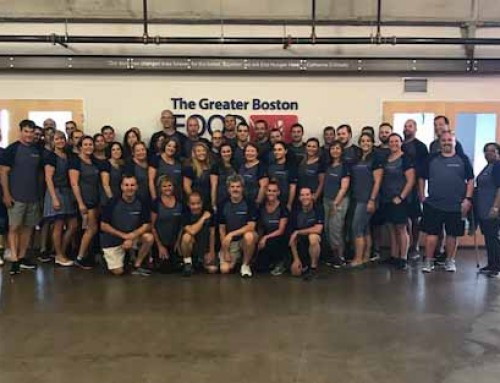 Summit Healthcare Volunteers at The Greater Boston Food Bank in Support of Company-Wide Philanthropic Initiatives
