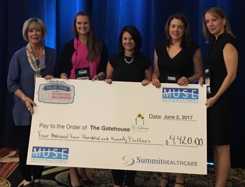 Summit Healthcare Supports this Year's Recipient of the Heart of MUSE Foundation: The Gatehouse