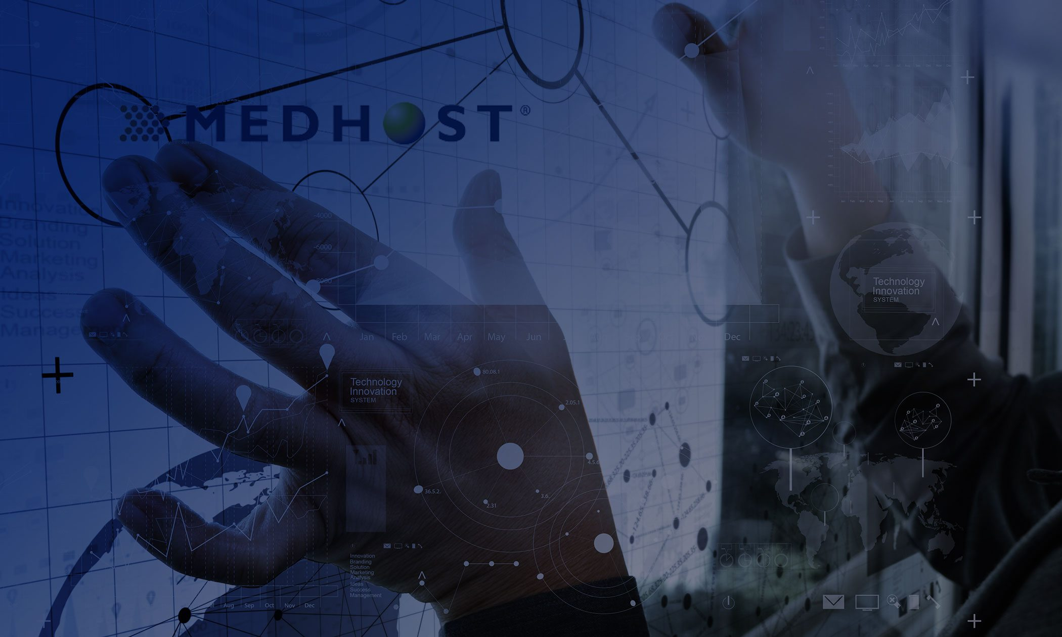 MEDHOST (HMS) page title background