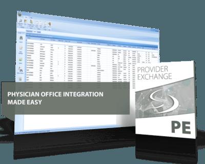 Provider exchange interoperability healthcare engine